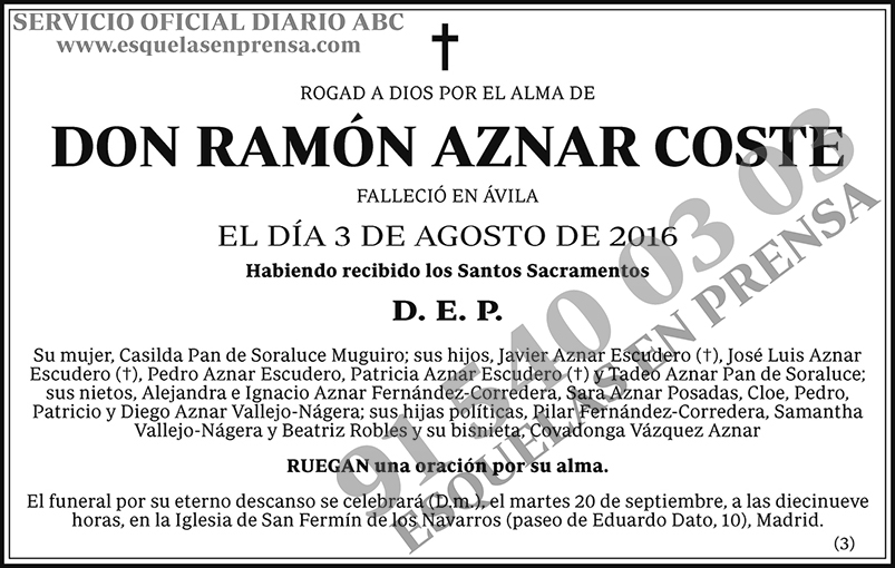 Ramón Aznar Coste